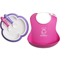 Baby Bjorn 婴儿喂食套装 粉色/紫色