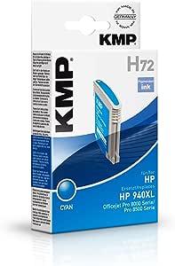 KMP 惠普 Officejet Pro 8000 墨盒 青色