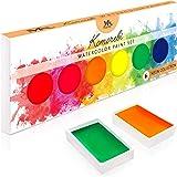 水彩颜料套装(实心) 6 Neon - Komorebi 0646437675291