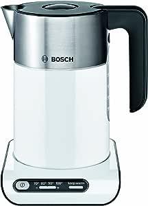 Bosch TWK8631GB Styline Collection Kettle, 1.5 L - White/Silver