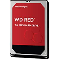 Western Digital 西部數據 WD10JFCX WD Red NAS 5400 9.5 MM RPM級SATA 6 Gb / s 16MB高速緩存 硬盤驅動器,1TB,2.5英寸(約6.35厘米)