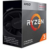 AMD Ryzen 3 3200G Processor (4C/4T, 6MB cache, 4.0GHz Max Boost) with Radeon™ Vega 8 Graphics