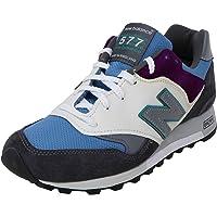 New Balance 男式 M577 及踝皮革跑步鞋
