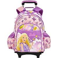 Barbie芭比书包 正品芭比花开富贵拉杆书包中小学生 紫色 A276698-2