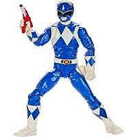 Power Rangers 闪电系列 Mighty Morphin Blue Ranger 6 英寸优质可收藏人偶玩具及配件