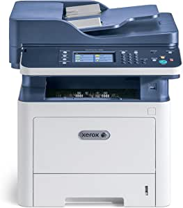 Xerox WorkCentre 3335dni A4 单色激光打印机,33ppm,Wi-Fi,双工