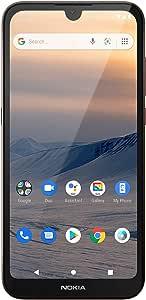 Nokia 诺基亚 1.3 免费智能手机(双Sim),Android UK-SIM卡,具有1 GB RAM和16 GB存储空间-沙色,5.71英寸(约14.50厘米)