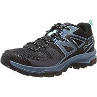 Salomon 萨洛蒙 X Radiant W 女士徒步鞋 & 远足低帮鞋 Grau (Ebony/Bluestone/Icy Morn) 36 EU