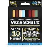 VersaChalk 液体粉笔 - *湿擦拭黑板玻璃笔 Fine 3mm 经典颜色
