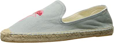 Soludos  女 限量款  火烈鸟 Flamingo Embroidery SM Slipper 平底鞋 FSS1505