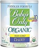 Baby's Only Organic 婴儿乳制品奶粉-Non GMO,美国农业部,清洁标签项目认证,12.7盎司,360克(1包)
