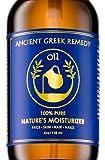 Ancient Greek Remedy 日夜用保湿油 橄榄,薰衣草,杏仁和葡萄籽油与维生素E混合物 适用于皮肤,干燥秀…