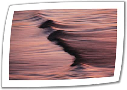 "ArtWall ""David Kyle's Waves and Sunset"" Canvas Artwork, 24"" x 36"""