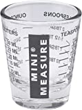 Kolder Original Mini Measure, Multi-Purpose Measuring Glass 黑色 A