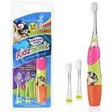Brush -Baby Kidzsonic 电动牙刷 3-6 岁粉色