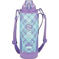 膳魔师 水杯 真空隔热运动水杯 1.5L FHT-1500F 紫色格子 1.5L FHT-1500F PL-CH