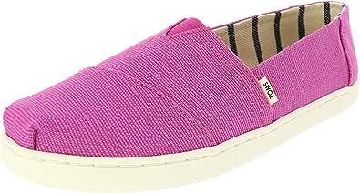 TOMS 青年/小号经典2.0一脚蹬鞋 Rose Violet Heritage Canvas 5.5 M US 儿童