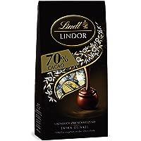 Lindt Lindor Beutel 70% Cacao, Extra dunkel, 11 Kugeln, 4er Pack (4 x 136 g)