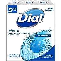 Dial **皂,4 盎司棒,白色,3 支装 2片装