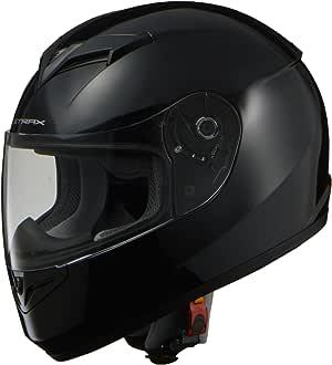 LEAD 摩托车头盔 全盔 STRAX SF-12 Mサイズ(57-58cm未満) 黑色 SF-12