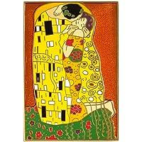 "Pinsanity""The Kiss""Gustav Klimt 珐琅翻领别针"