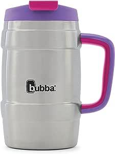 Bubba Keg 真空绝缘不锈钢旅行杯,34盎司,深蓝色 Juicy Grape 34 oz. 2035597