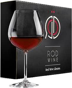 RÖD Wine *佳礼物玻璃器系列 红色 3件套 FBA_rodwinered