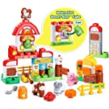 LeapFrog LeapBuilders 家庭食品农场