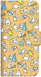 Mitas 智能手机壳 手账型 *不好猫 vol.13SC-4113-BR/KYL22  14_DIGNO M (KYL22) 棕色