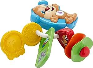 Fisher-Price Keys Counts And Go - 牙胶玩具电子欢乐学习 6 - 36 个月,fph60