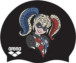 Arena 经典青少年硅胶中性款泳帽,适合男孩和女孩。