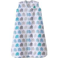 HALO SleepSack Micro-Fleece Wearable Blanket Elephant Texture 小号