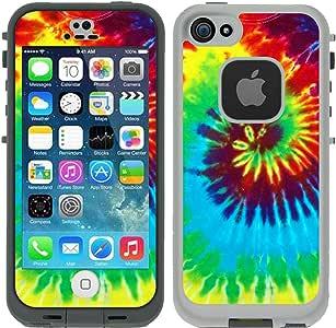 iPhone 5/5S/Se Lifeproof Fre 手机壳 White - Tie Dye