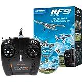 RealFlight 9:RF9 RC 飞行模拟器软件带 Spektrum Interlink-DX 控制器,RFL1100