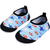 JIASUQI 男婴女童赤脚游泳水鞋水袜海滩游泳池