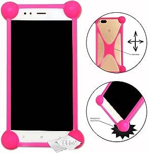 Storex S'Phone DC40G 手机保护套,粉红色防震,高品质硅胶材质