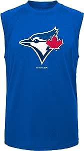 Outerstuff MLB 青年男孩位置无袖 T 恤 深皇家蓝 Medium 8