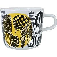 Marimekko 马克杯 咖啡杯 200毫升 餐具 雪色传染 塔尔哈 Siirtolapuutarha 63293 192 [平行进口商品]