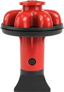 DANCO (DG2-P) Dispose Genie 2.0 厨房水槽过滤器,塞子和防溅板,带食品刮刀 红色 1-包每包 1 条 10761A