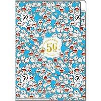 Showa Note 哆啦A梦 透明文件夹 3个口袋 2张套装 50周年原作系列 A5尺寸 646502M02
