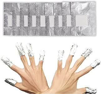去除箔 100 件*卸妆器铝制缺陷包装器配件