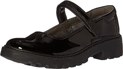 Geox J Casey 女孩 8 玛丽珍鞋