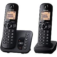 "Panasonic KX-TG tgc222gb 无绳电话带"" 自 KX - tgc222"" 黑色"
