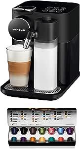 De'Longhi 德龙Nespresso EN650 Gran Lattissima 咖啡机 带胶囊系统 黑色 EN650B