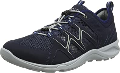 ECCO 爱步 男士 牛皮低帮徒步鞋 舒适运动越野