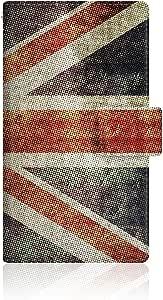 CaseMarket 【手册式】 Y! mobile Spray (402LG) 超薄外壳 针脚模型 [ 英国国旗 大旗 复古 打印 UK 1927 日记 ] 402LG-VCM2S2313