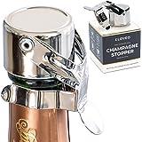 Kloveo 香槟塞子 - *密封(无需压力泵)意大利制造 - 专业级 WAF 香槟瓶塞 - 普罗塞克、卡瓦和起泡酒塞
