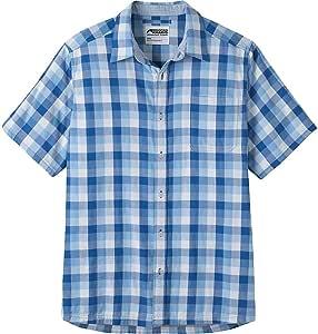 Mountain Khakis 男式两件海洋短袖衬衫