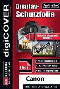 digiCOVER 优质屏幕保护膜 适用于 Canon IXUS 170