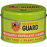 防蚊蜡烛(340.19 克)采用天然植物成分制成 - 香茅、柠檬草、迷迭香、雪松油 - 不含食用